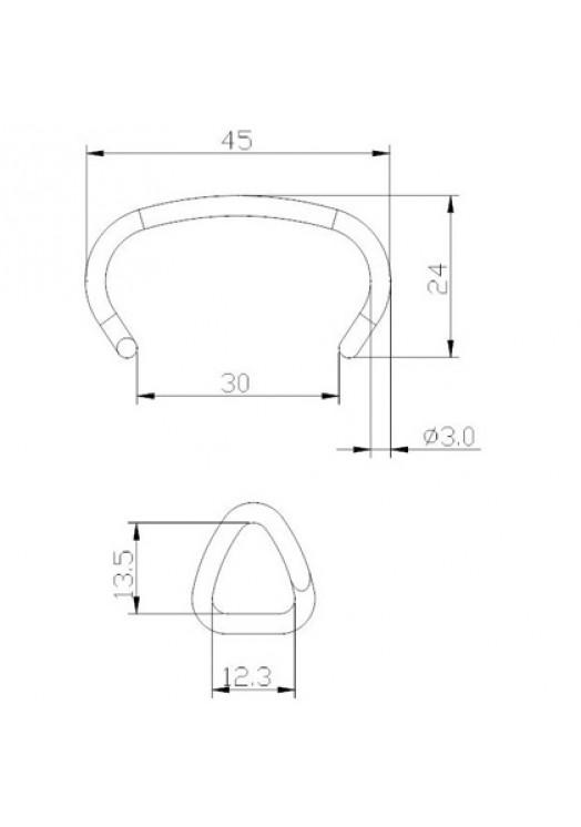 Скоба 11G40 (CR30/45SV)
