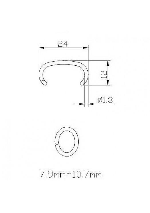 Скоба 15G100 (CL24, HR 23, AC 73)