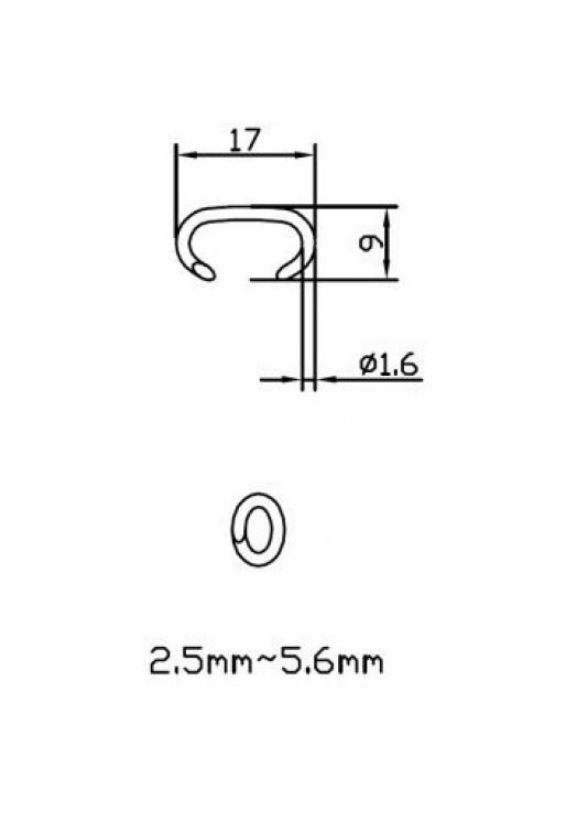 Скоба 516G100 (AC31, CL16)