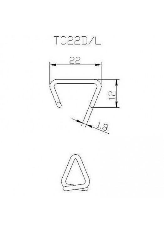 Скоба SR15 (HR22, CL22)